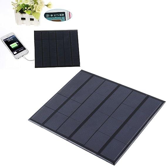 VORCOOL 6 V 3.5 W Solar Cargadores Solarpanel portátil Panel Solar ...