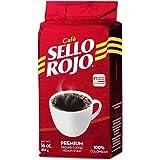 Cafe Sello Rojo | 哥伦比亚*畅销的咖啡品牌 | * 哥伦比亚中等烘焙研磨咖啡 | 优质咖啡 | 原产地包装
