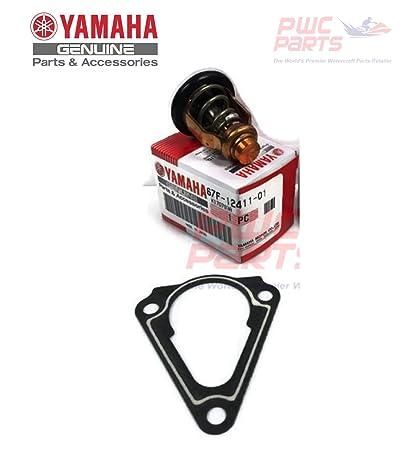 Amazon com: YAMAHA OEM F150 Outboard Thermostat 67F-12411-01