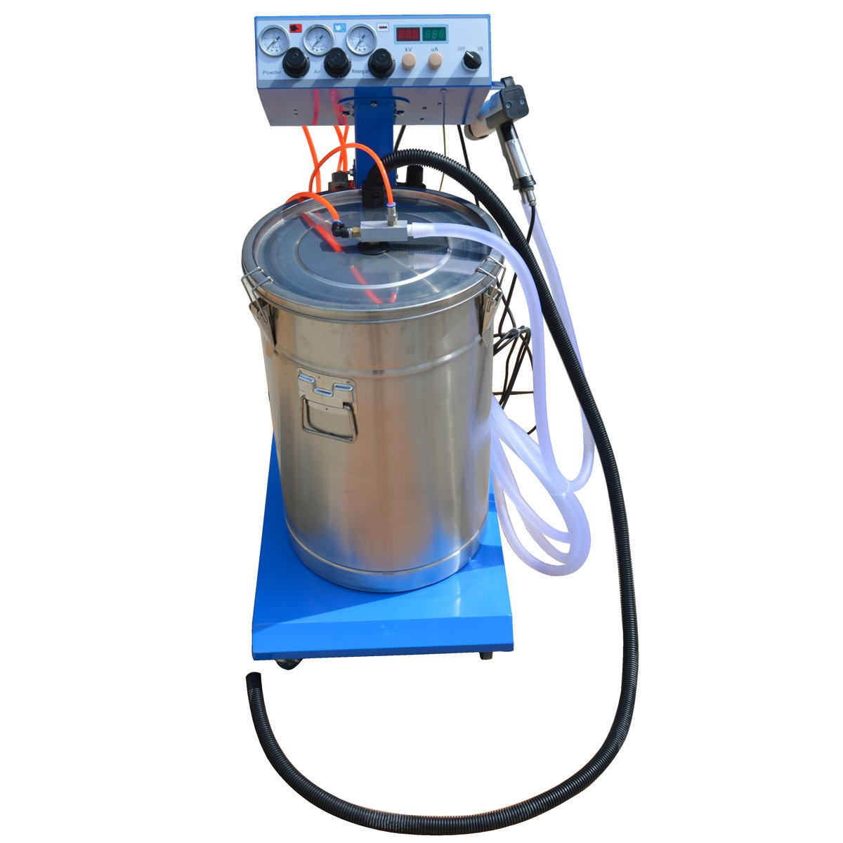 TECHTONGDA 110V WX-958 Powder Coating System with Spraying Gun Powder Coating Machine(item#251901)