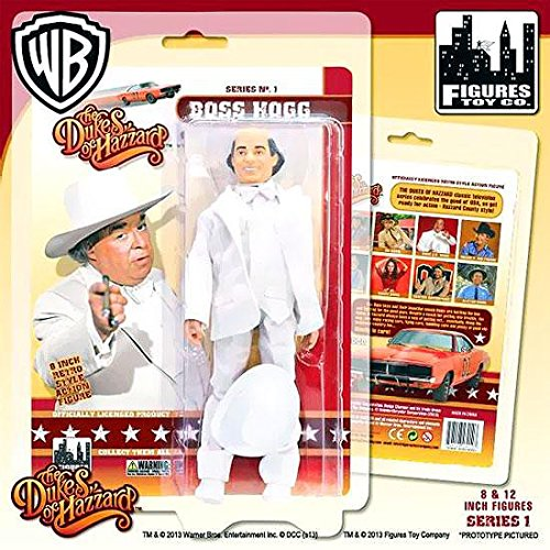 Boss Hogg Dukes of Hazzard 8 Inch Action Figure