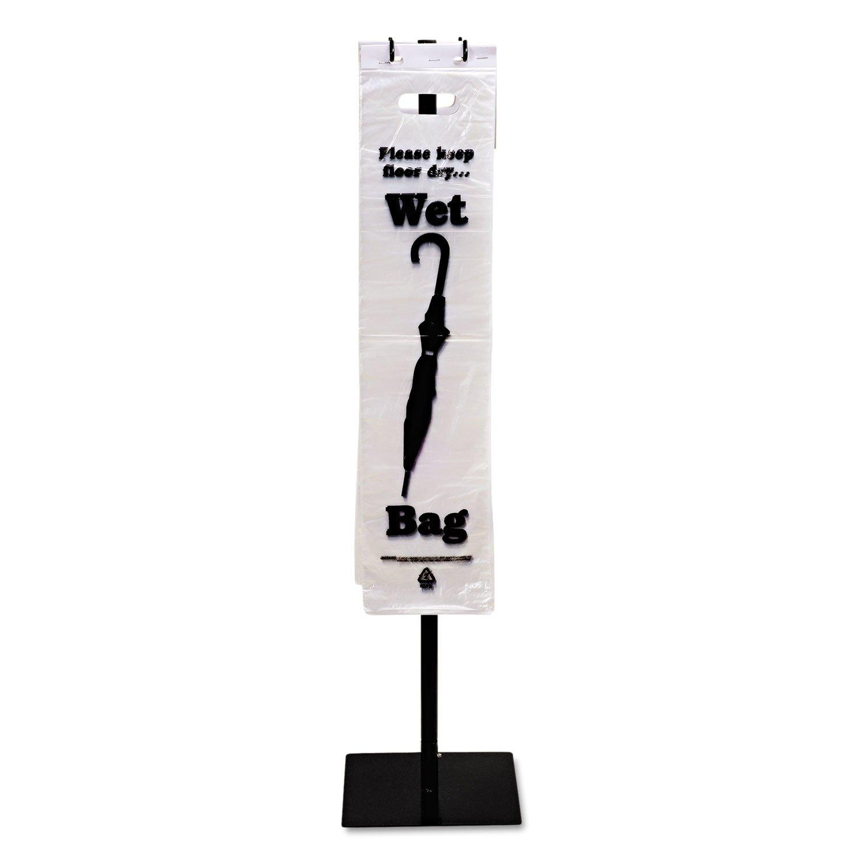 Tatco 57010 Wet Umbrella Bag, 7w x 31h, Clear, 1000/Box by Tatco