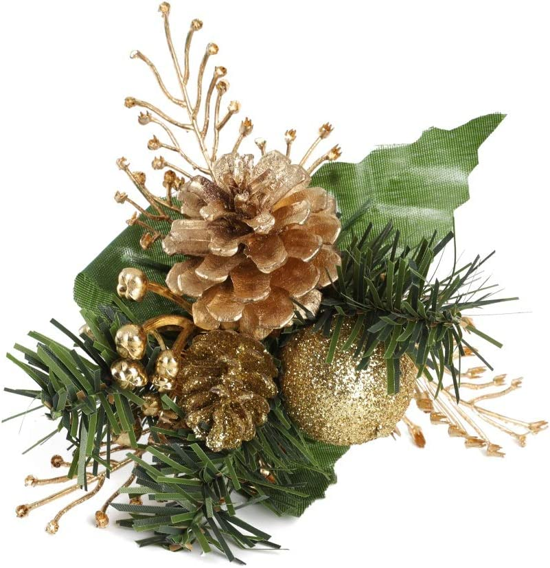 Details about  /New 4 Pkgs=16 Glittery Pinecones for Christmas Crafts//Decor 4 Color Choices