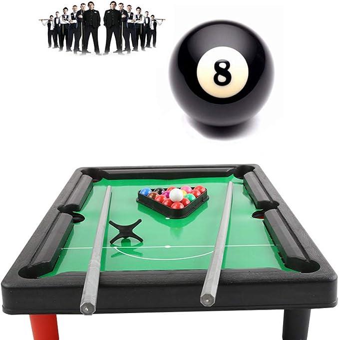 BESTOYARD Juego de bolas de billar mini para niños Juego de billar ...