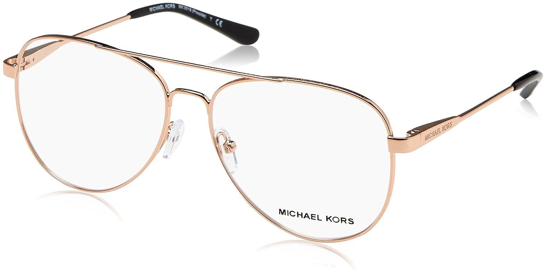 b732391a8db Michael Kors Eyeglasses Procida MK3019 MK 3019 1116 Rose Gold Optical Frame  56mm at Amazon Men s Clothing store
