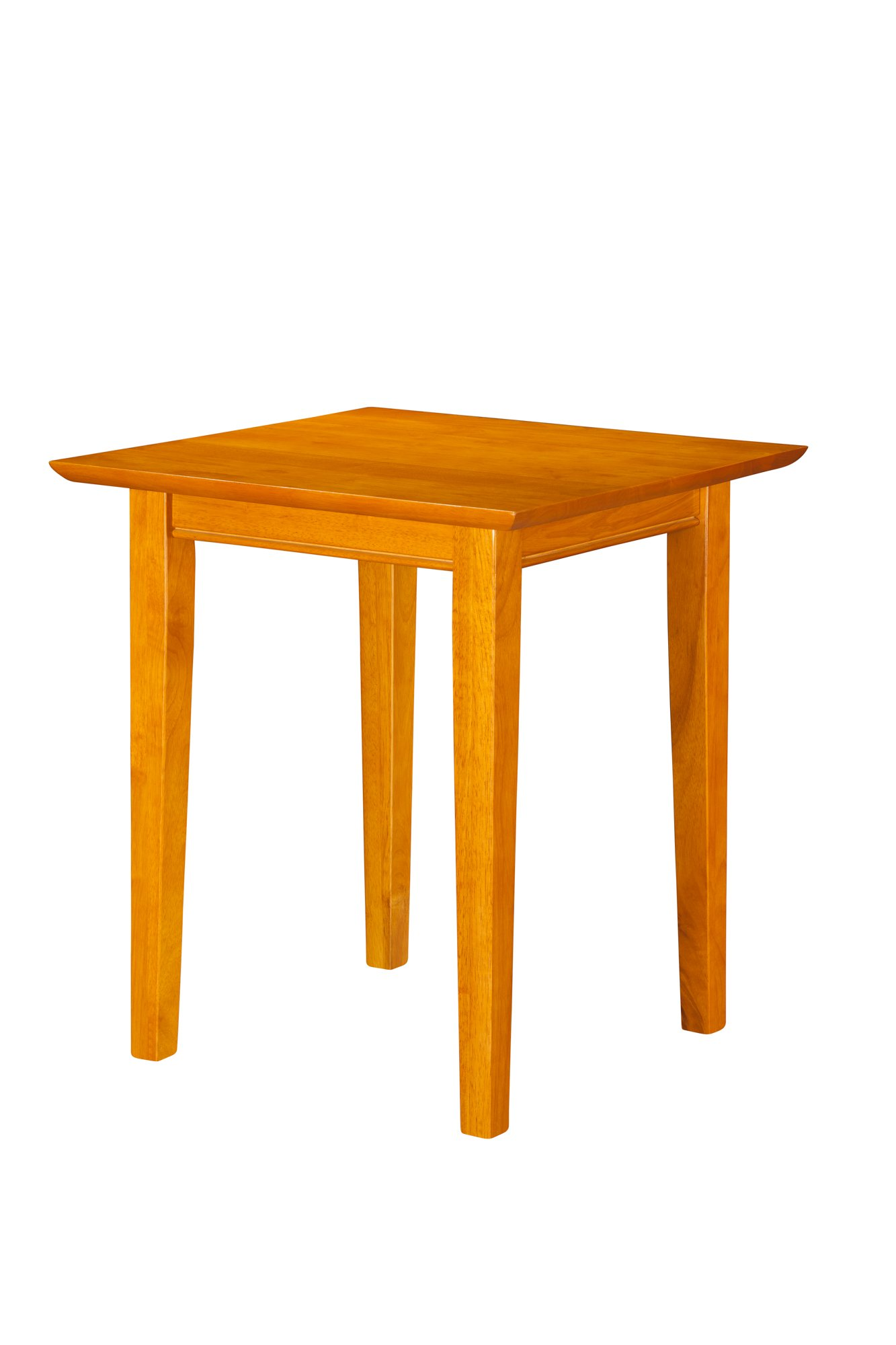 Atlantic Furniture Shaker End Table, Caramel Latte by Atlantic Furniture
