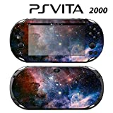 Skin Decal Cover Sticker for Sony PlayStation PS Vita Slim (PCH-2000) - Space Galaxy Stars