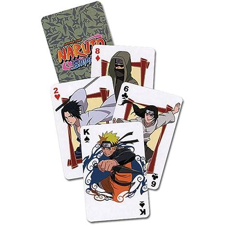 Naruto Shippuden Juego de Cartas: Amazon.es: Juguetes y juegos