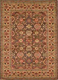 A2Z Rug Heritage Collection Persian Traditional Area Rug Light Brown - 7' x 10' FT High Class Living Dinning Room & Bedroom Rugs, Oriental Floor and Carpets