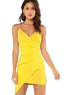 dde43586db24 Twippo Vestidos Ajustados Mujer Vestidos Cortos Sin Mangas: Amazon ...