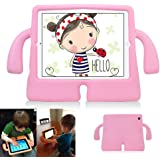 iPad 2,3,4 Kids Case,Kids Proof Drop-Proof Shockproof iPad Cover Kids Safety Protective Tablets Case for iPad 2nd 3rd 4th Generation (Pink)
