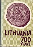 img - for Lithuania: Seven Hundred Years book / textbook / text book