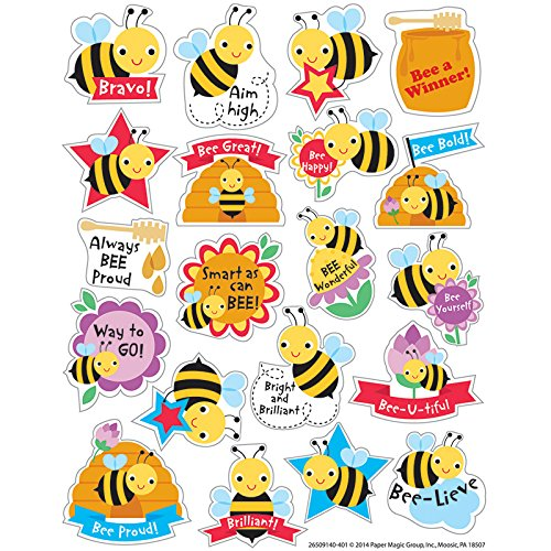 Eureka Honey Stickers, Scented (650914)