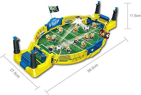 Futbolines de futbolín, Juego Combinado Steady TableToy Mini Juego de Mesa de Dos tableros Regalos Simples y fáciles de armar para la Familia: Amazon.es: Deportes y aire libre