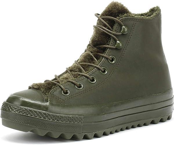 comunista settimanalmente Fatale  Converse Chuck Taylor All Star Lift Ripple High Top Women's Sneaker Boots  Utility Green: Amazon.ca: Shoes & Handbags