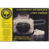 Catamount Corn Popper  Borosilicate glass microwave popcorn