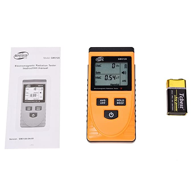 SODIAL(R) GM3120 Digital Electromagnetic Radiation Detector Meter Dosimeter Tester - - Amazon.com