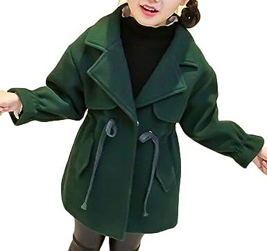 0f7ec589136a Amazon.com  omniscient Girls Winter Fashion Long Sleeve Clothes Coat ...