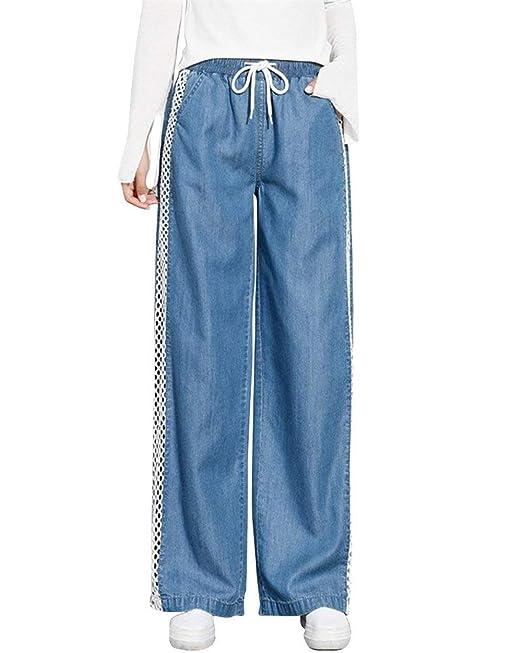 Pantalones Ligeros De Verano para Mujer Pantalones Anchos ...