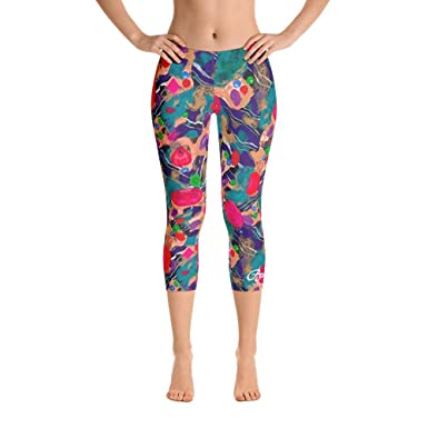 891d02cf7c732 Image Unavailable. Image not available for. Color: Bettina Marks Inc. Jelly  Bean Capri Leggings