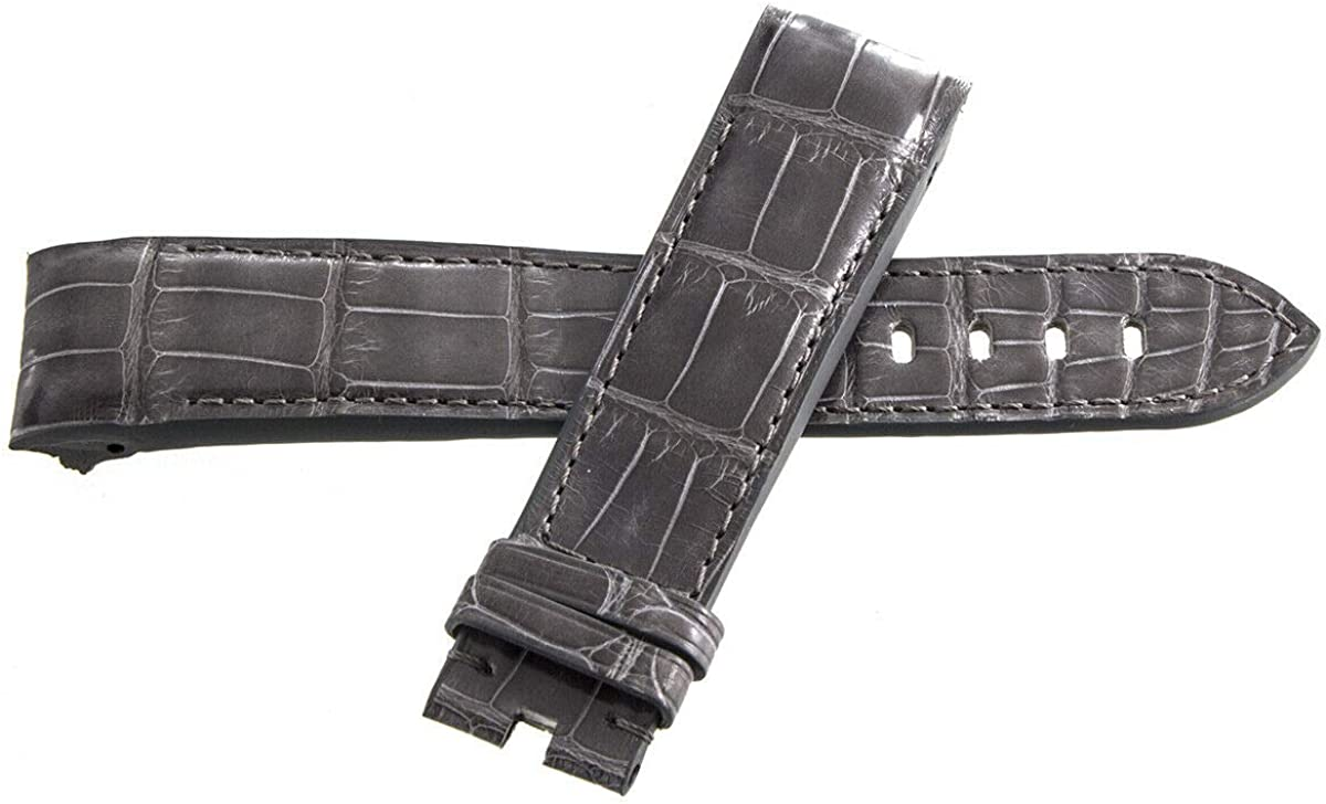Genuine Graham Grey Leather Watch Band Strap 22mm x 20mm
