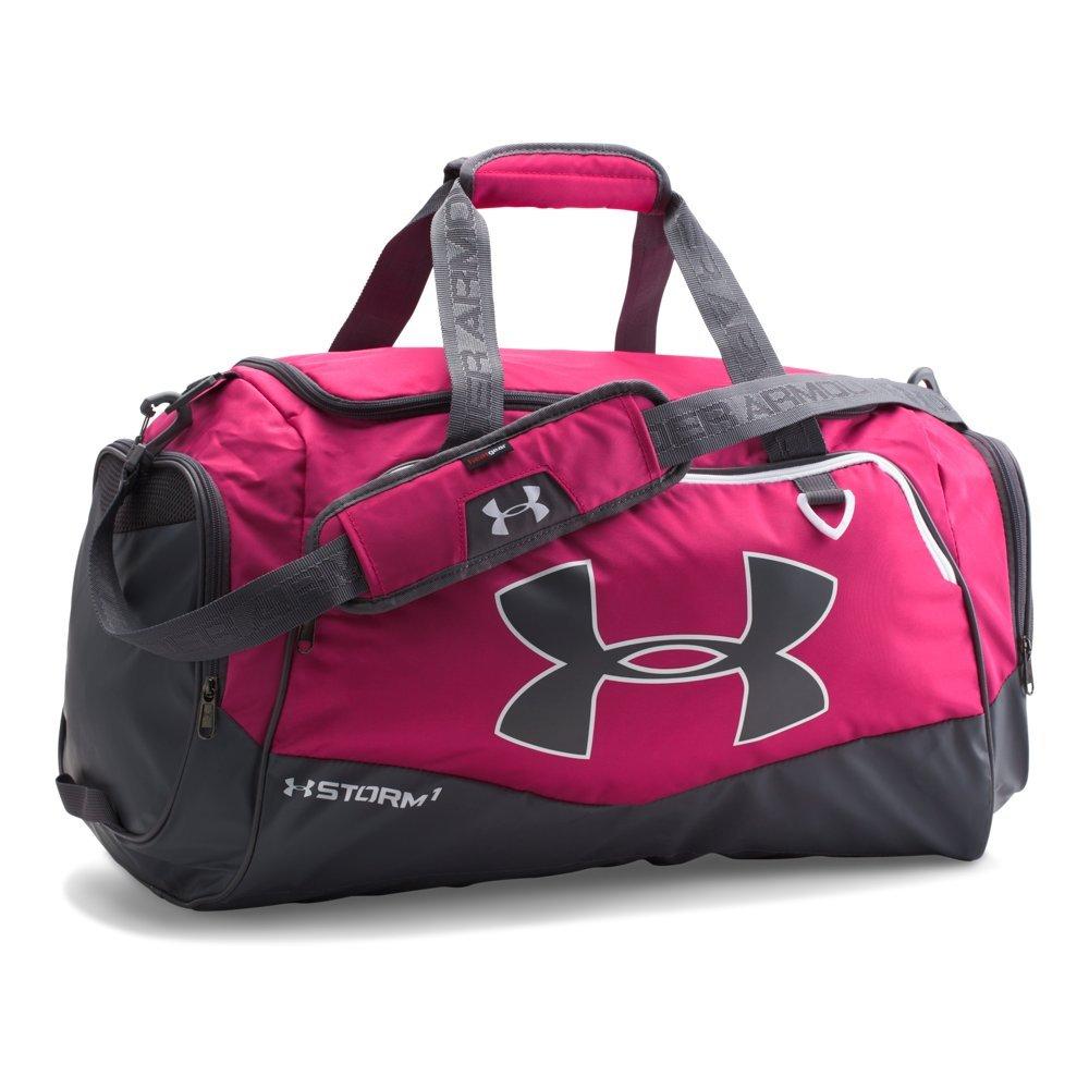 Under Armour Undeniable Duffle 2.0 Gym Bag, Tropic Pink /White, Medium