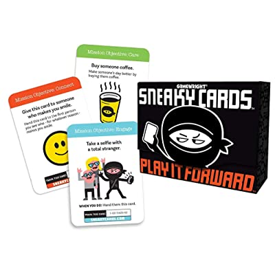 Sneaky Cards Card Game: Toys & Games