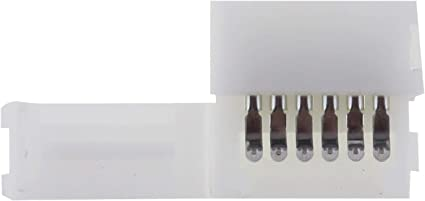 1 Kabel Connector für RGBW+WW CCT LED-Streifen ; 1 Clip Verbinder