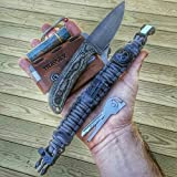 Bug-Out-Bracelet-Paracord-Bracelet-Survival-Kit-with-firestarter-p38-knife-fishing-hook-compass-water-purification-etc