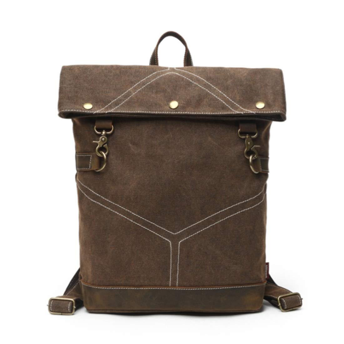 MAGAI Canvas Rucksack Herren und Damen Rucksack Outdoor Bag Bag Bag Retro Bag (Farbe   Gelb) B07MSHRN9Q Daypacks Großer Verkauf ff0479