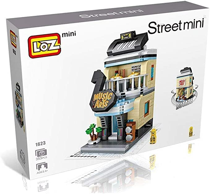 Loz Mini Street Music Arts Diamond Building Nanoblocks - Puzzle 3D para niños y Adultos con Caja, Juguete Educativo para niños: Amazon.es: Juguetes y juegos