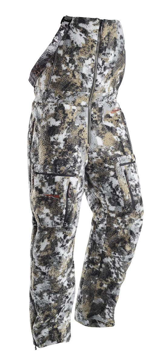 SITKA Gear Women's Hunting Cold Weather Insulated Full Zip Camo Whitetail Elevated II Fanatic Bib Pant, Medium by SITKA
