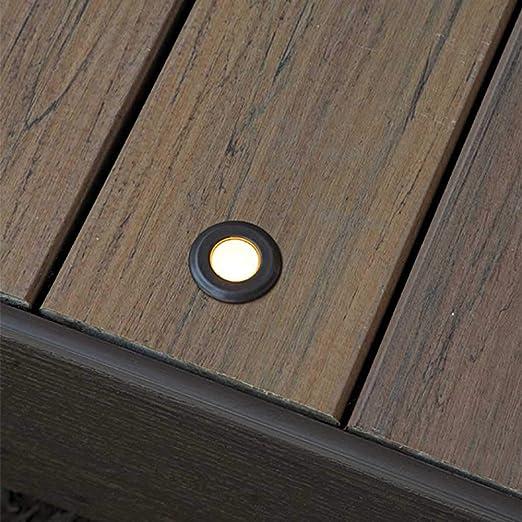 TimberTech LED in-Deck Lights 4 - Pack - Bronze