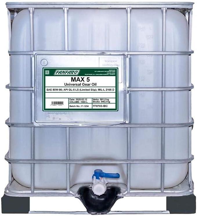 1 X 20l Mannol Hypoid Getriebeoel 80 W 90 Api Gl 5 Universal Manual Transmission Axle Oil Auto