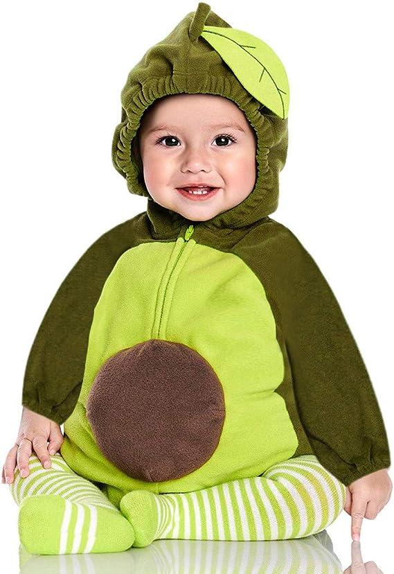 Pijama Ropa Traje Disfraz Aguacate Navidad Regalo bebé Mono ...