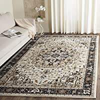 Safavieh Lyndhurst Collection LNH334K Traditional Oriental Medallion Cream and Navy Area Rug (8 x 10)