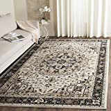 Safavieh Lyndhurst Collection LNH334K Traditional Oriental Medallion Cream and Navy Area Rug (3' 3