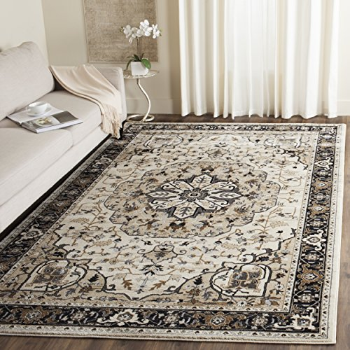 Safavieh Lyndhurst Collection LNH334K Traditional Oriental Medallion Cream and Navy Area Rug (3′ 3″ x 5′ 3″) Review