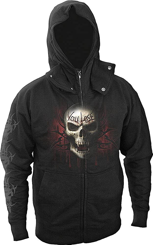 Spiral Hoody Black Game Over