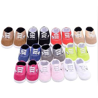 Espadrilles Bébé Vlunt Avec Premiers Pas Chic Lacets Chaussures ZpwPwqd