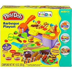 play doh barbeque playset toys games. Black Bedroom Furniture Sets. Home Design Ideas