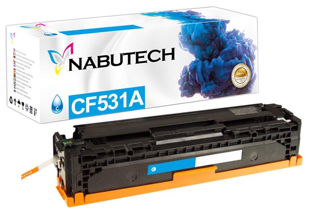 Original nabutech Toner como repuesto para HP 205 A cf531 a cian ...