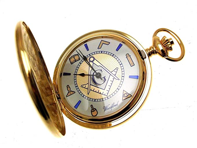 78e53f516 Image Unavailable. Image not available for. Colour: Masonic Pocket Watch ...