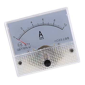 Sharplace Amperímetro Medidor de Corriente Accesorios Ordenador Portátil Cámara Fotografía Panel Analógico - 14: Amazon.es: Bricolaje y herramientas