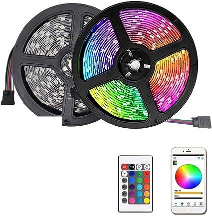 20M LED Strip Light 5050 2835 SMD RGB Waterproof WIFI IR Remote Controller DC12V