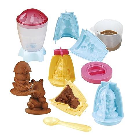 Playgo - Máquina para hacer figuras de chocolate (ColorBaby 44320)
