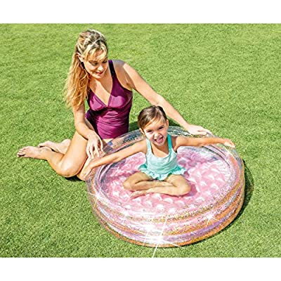 Intex Glitter Mini Pool, Inflatable Kids Pool, for Ages 1-3: Toys & Games