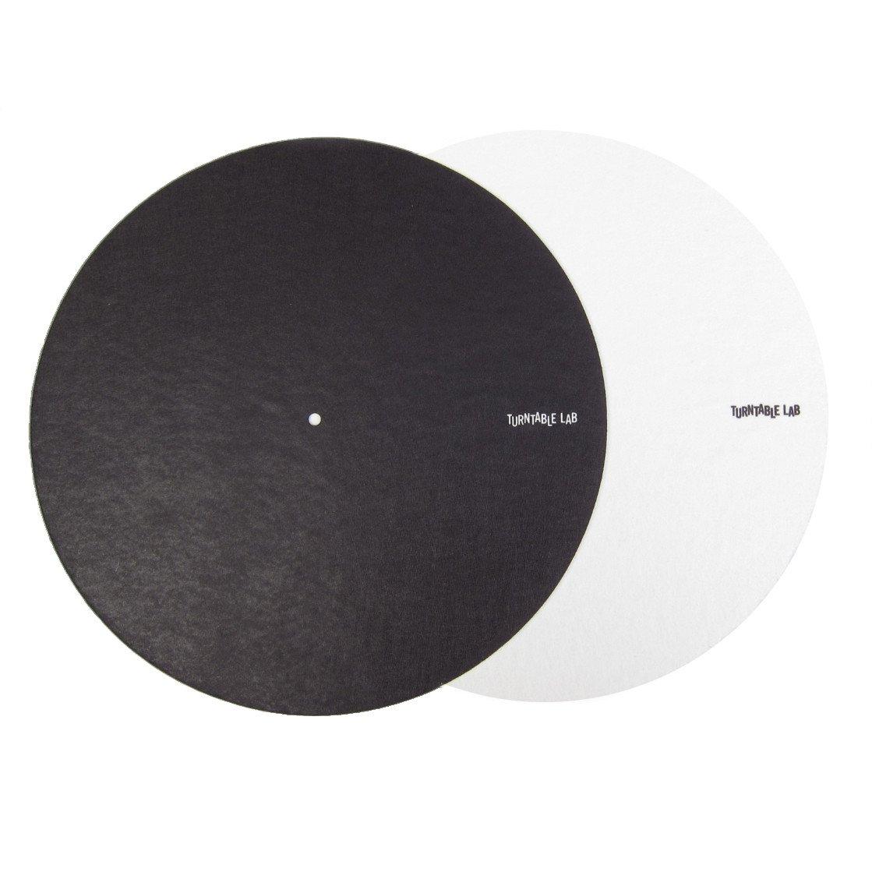 Turntable Lab: Switchmat Reversible Slipmat - Black / White (Single) TTLSRSBWS