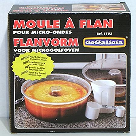 Plasticos de Galicia - Molde para flan (para microondas 20 ...