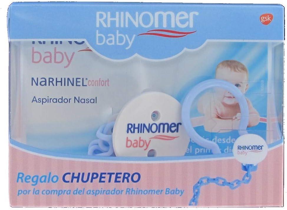 GlaxoSmithKline RHINOMER BABY ASPIRADOR NASAL + GRATIS CHUPETERO: Amazon.es: Bebé